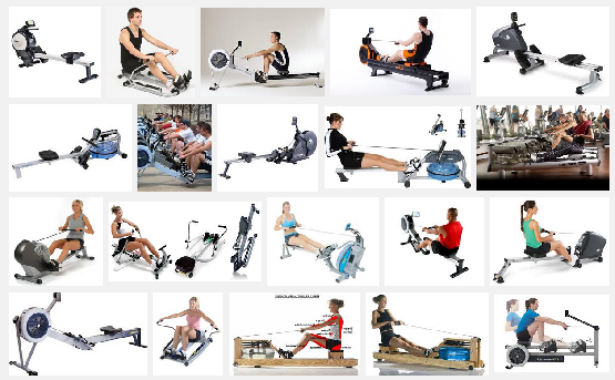 rowing cardio exercise machines