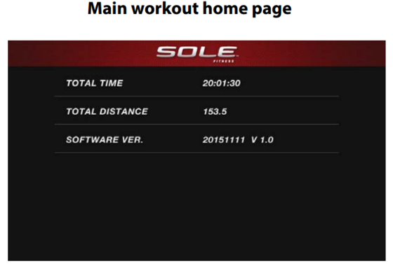 sole e95 elliptical main workout home page 1