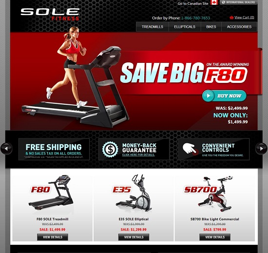 sole fitness website